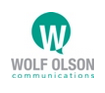Wolf Olson Communications Logo